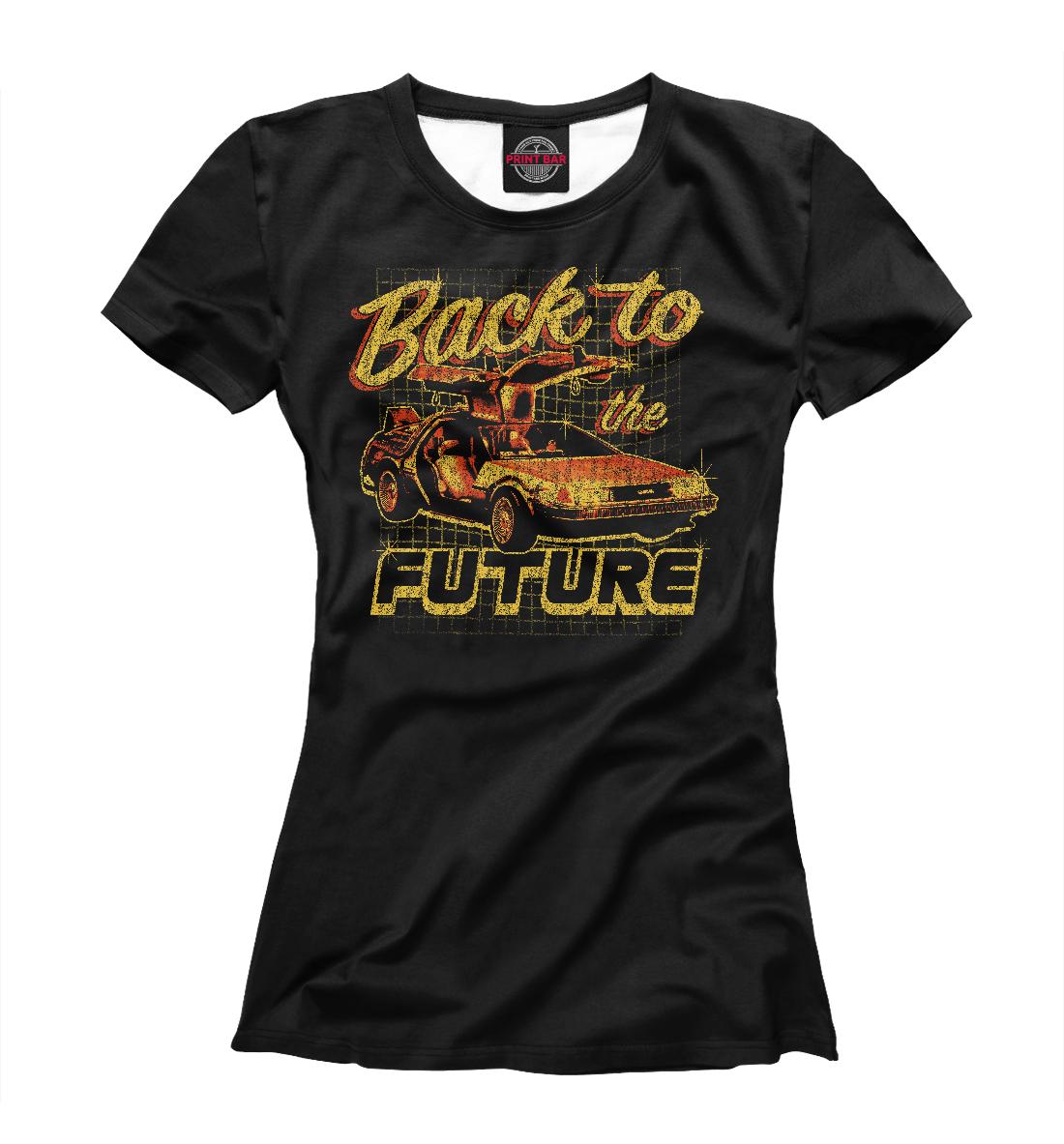 Купить Назад в будущее, Printbar, Футболки, KNO-142460-fut-1
