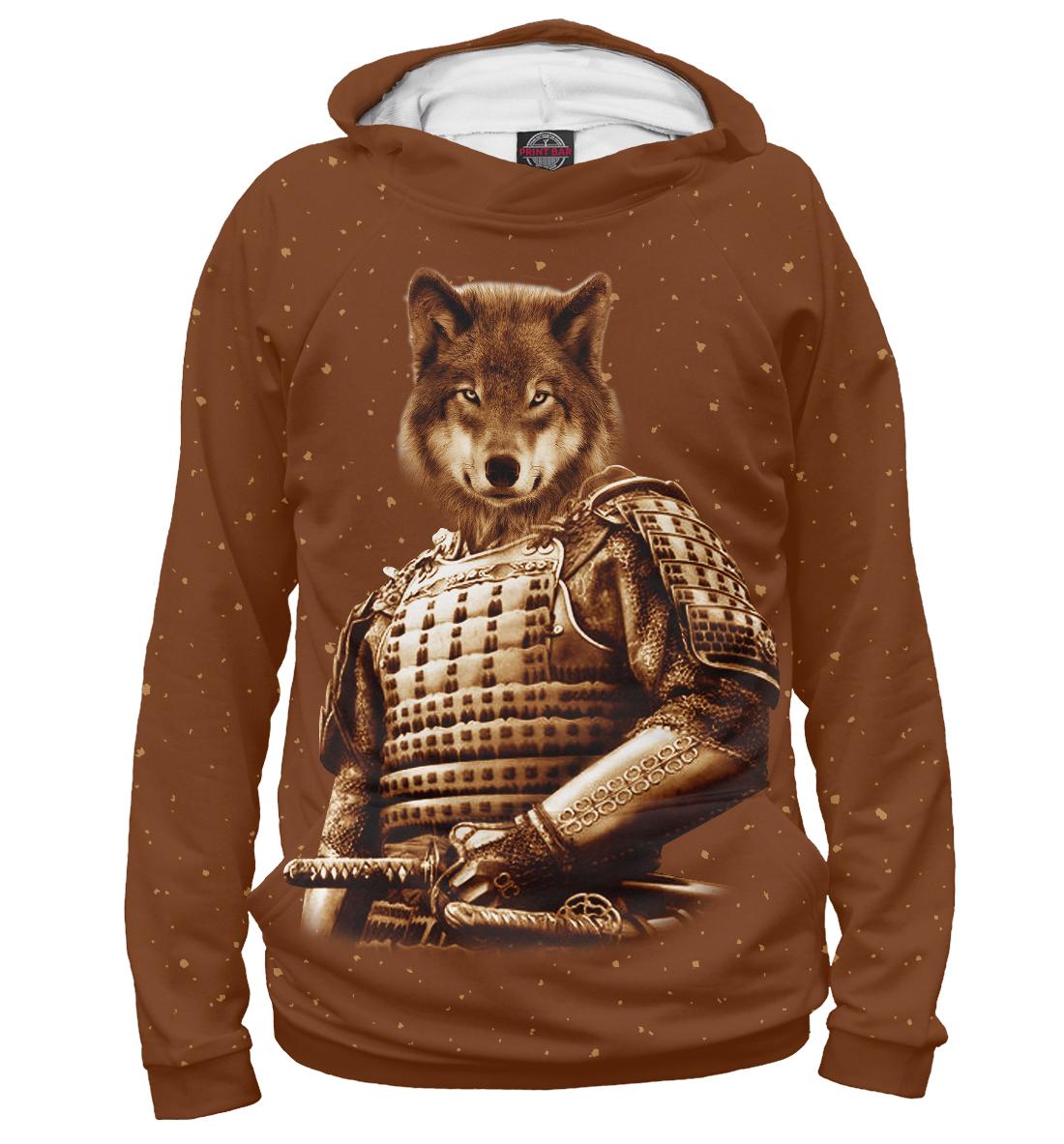 Купить Волк самурай, Printbar, Худи, VLF-465099-hud-2