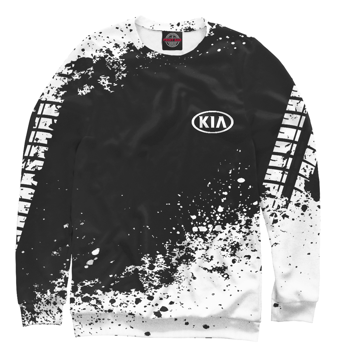 Купить Kia abstract sport uniform, Printbar, Свитшоты, AMP-137239-swi-2