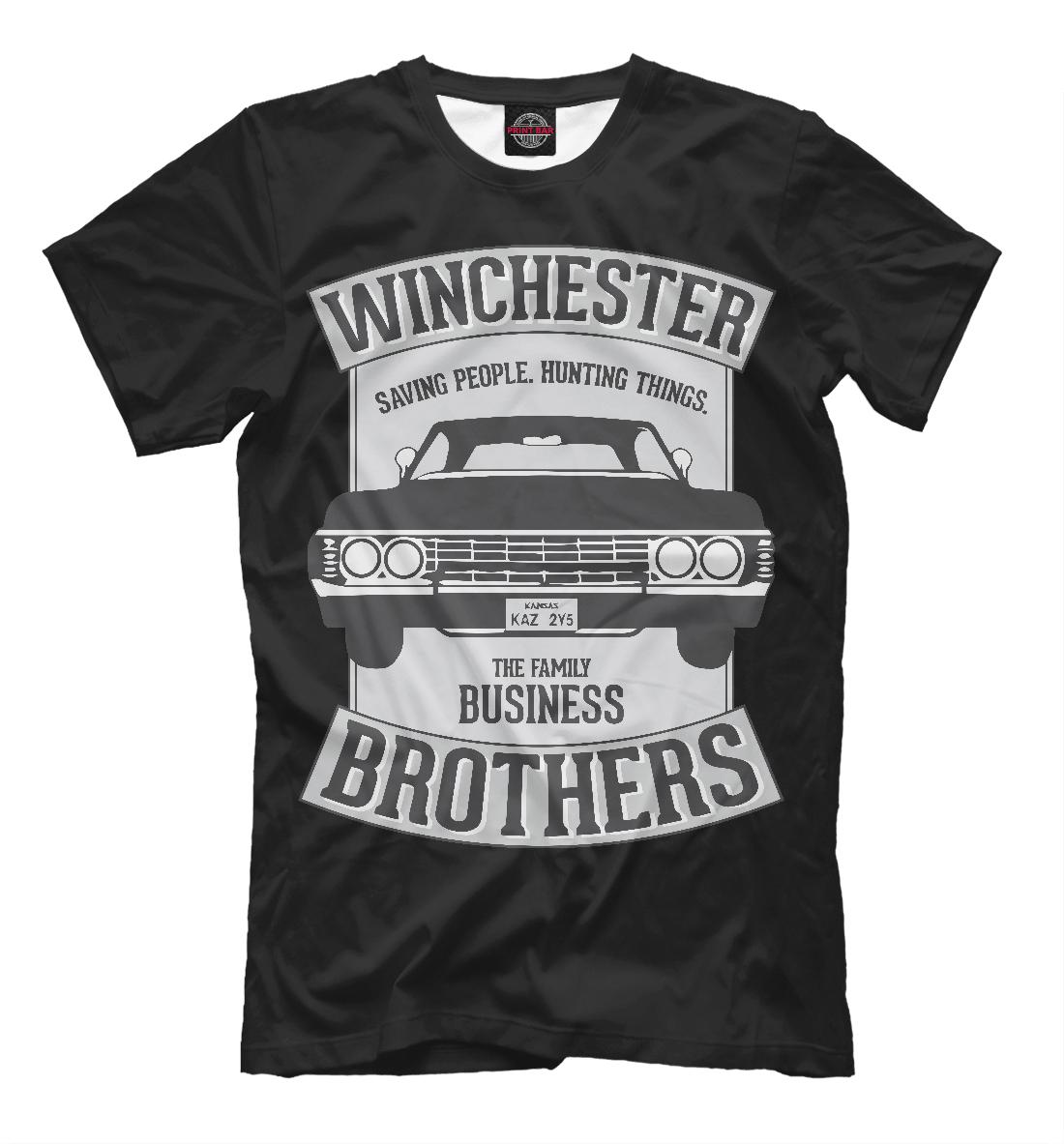 Купить Winchester Brothers, Printbar, Футболки, SVE-648109-fut-2