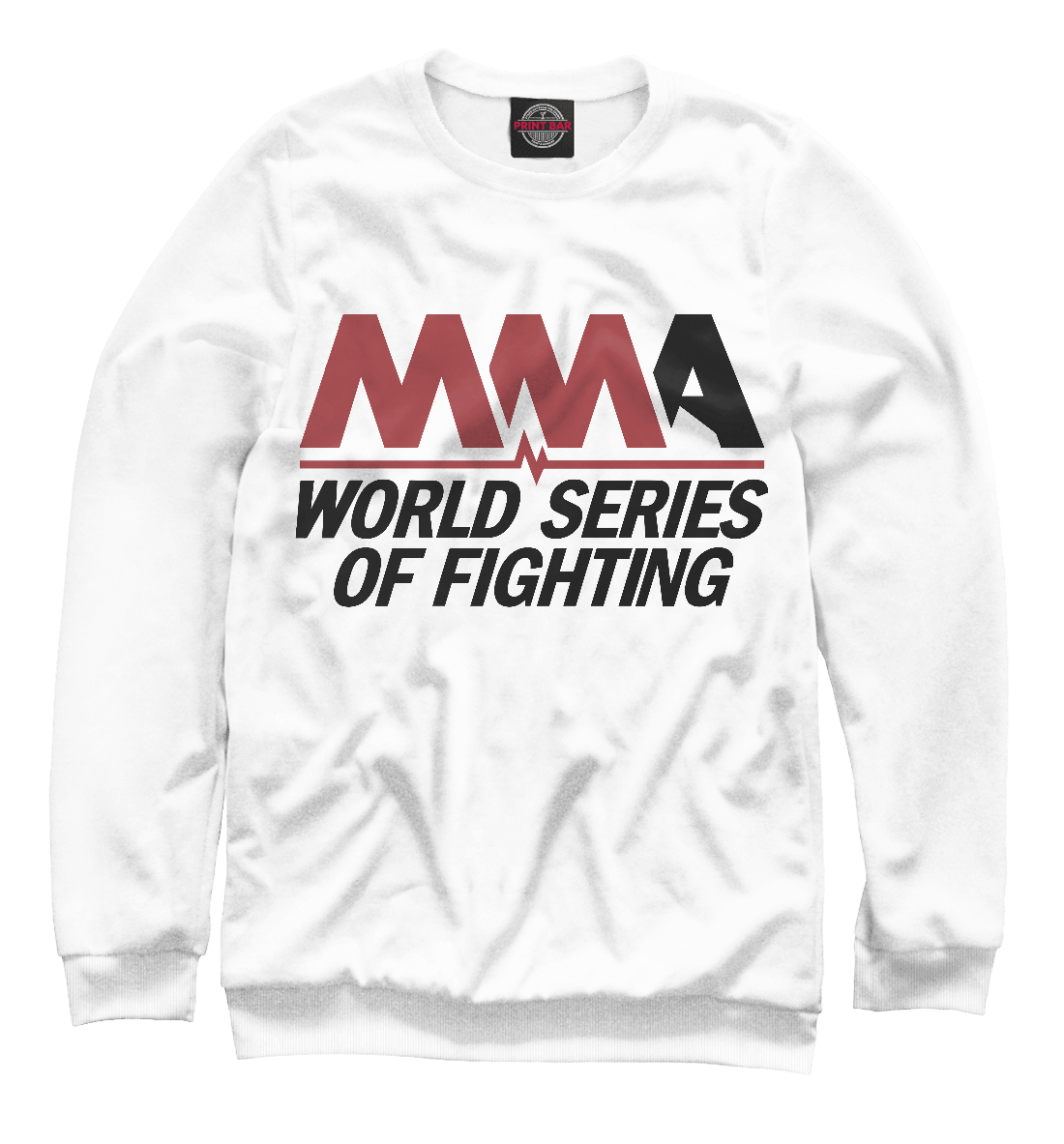 Купить MMA World Series Of Fighting, Printbar, Свитшоты, MNU-873955-swi-2