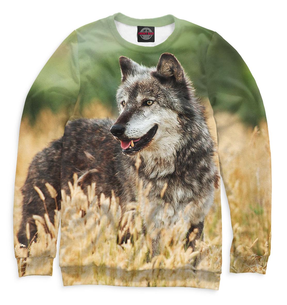 Купить Волк, Printbar, Свитшоты, VLF-412415-swi-2