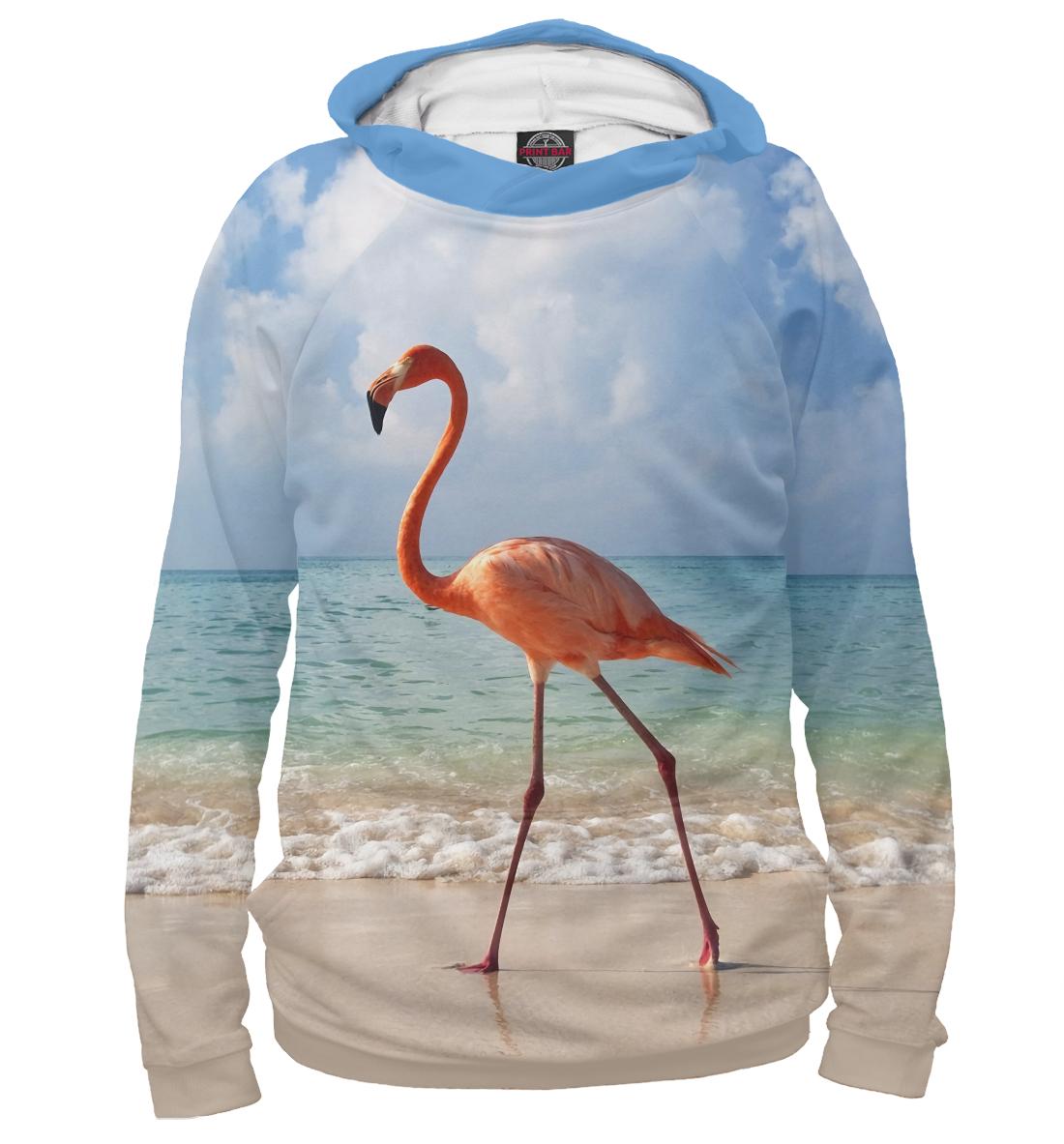 Купить Фламинго, Printbar, Худи, PTI-495180-hud-1