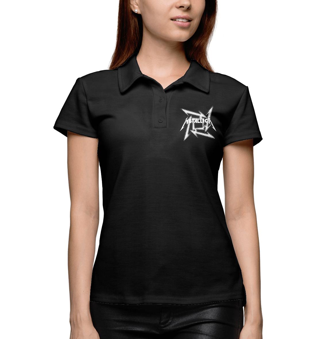 Купить Metallica, Printbar, Поло, MET-256692-pol-1
