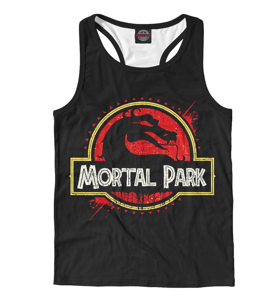 Купить Mortal Park, Printbar, Майки борцовки, MKB-413003-mayb-2