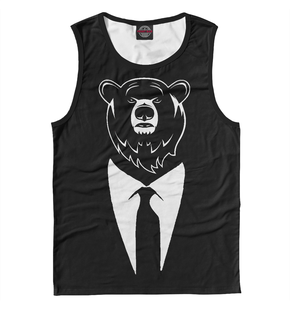 Купить Bear Business, Printbar, Майки, MED-706223-may-2