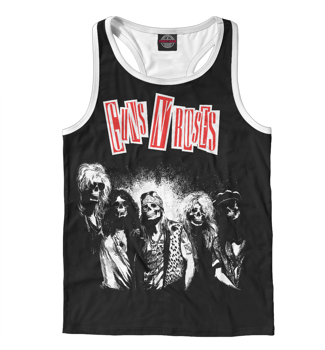 Купить Guns N' Roses, Printbar, Майки борцовки, MZK-562023-mayb-2