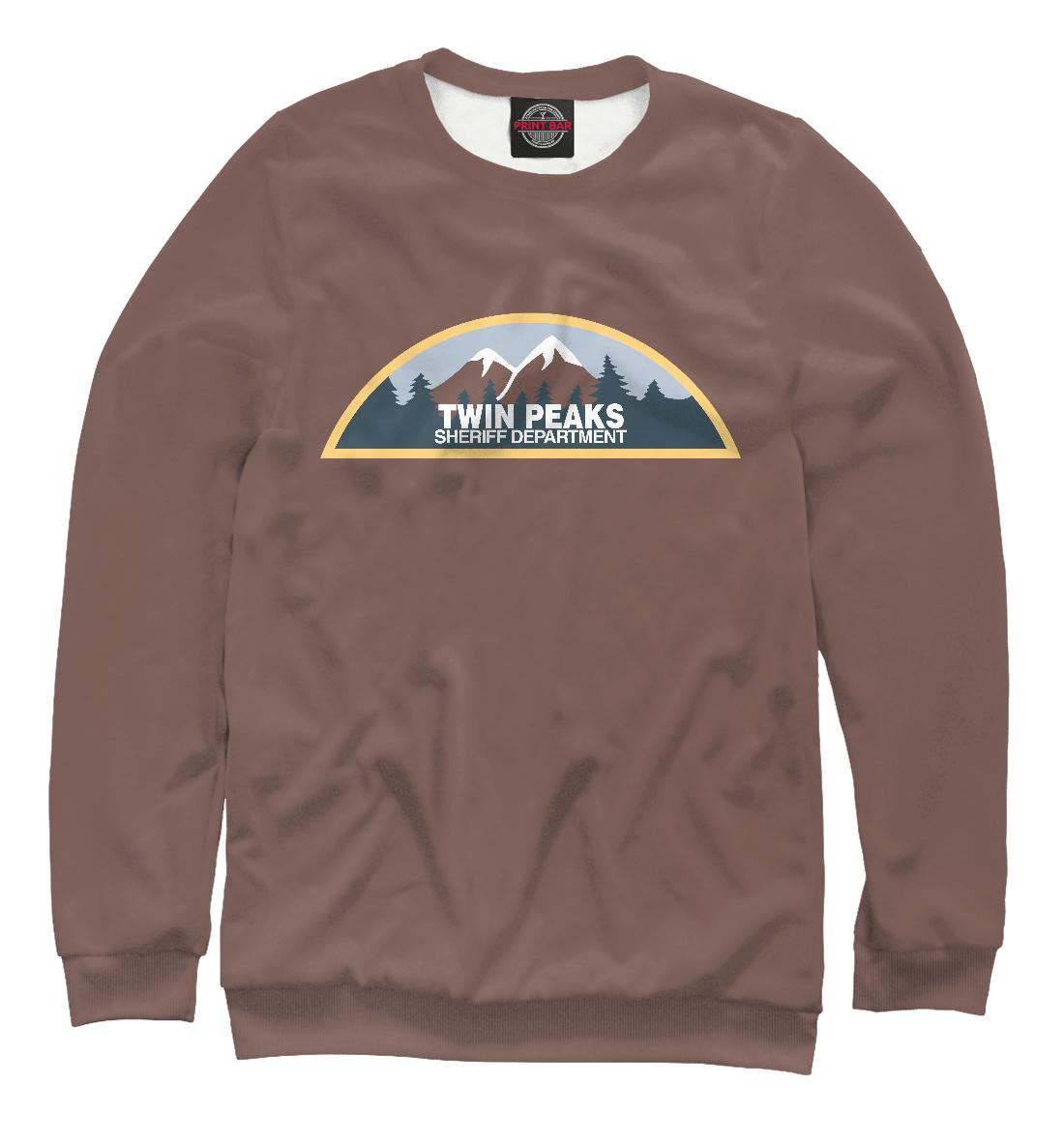 Купить Twin Peaks Sheriff Department, Printbar, Свитшоты, TPS-888354-swi-2