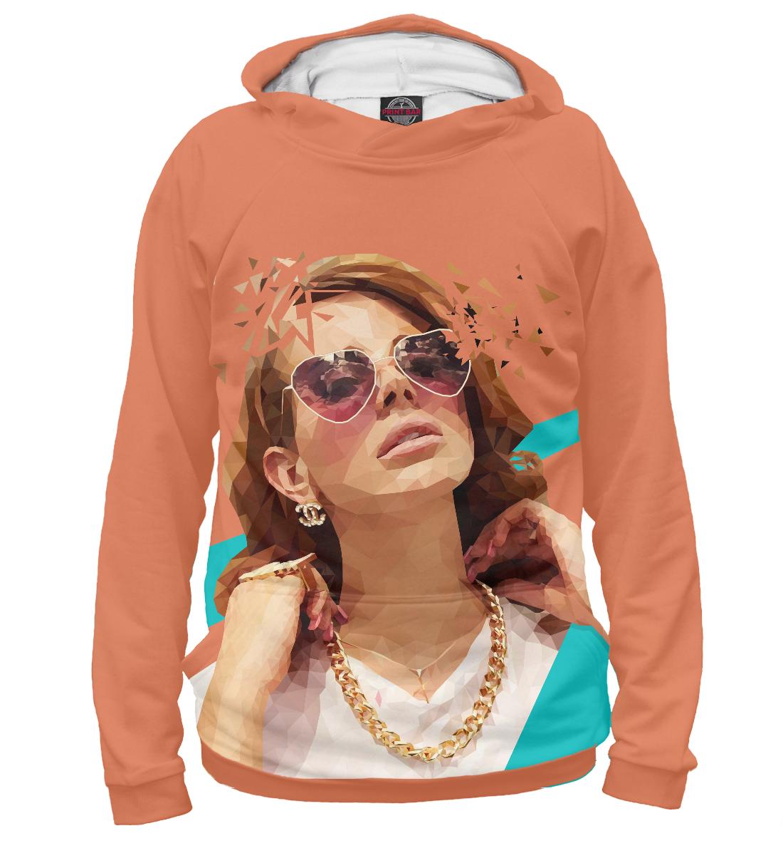Купить Lana Del Rey, Printbar, Худи, MZK-576333-hud-2