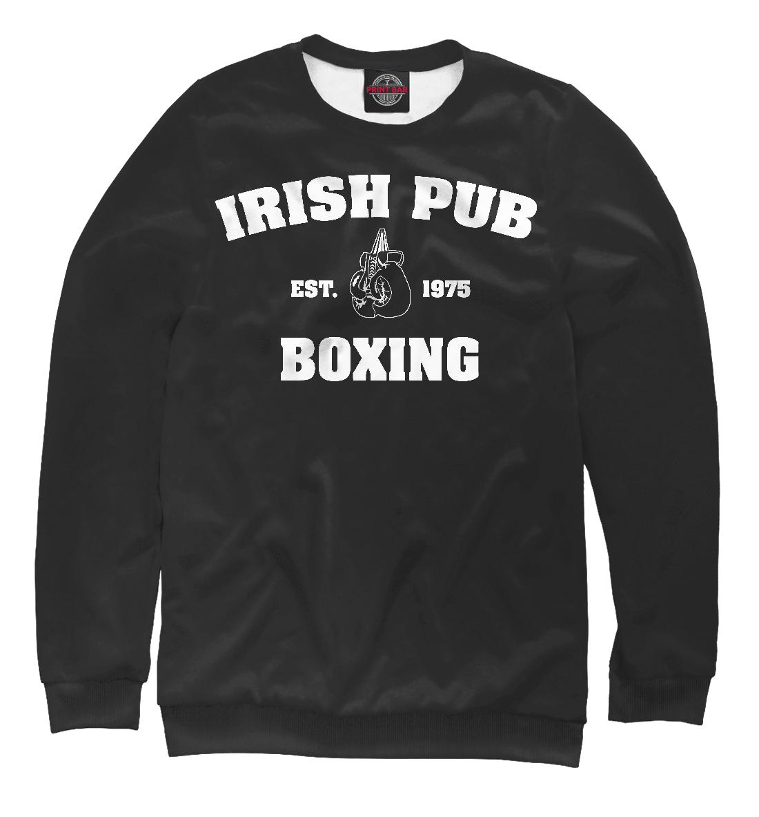 Купить Irish Pub Boxing, Printbar, Свитшоты, EDI-526090-swi-2