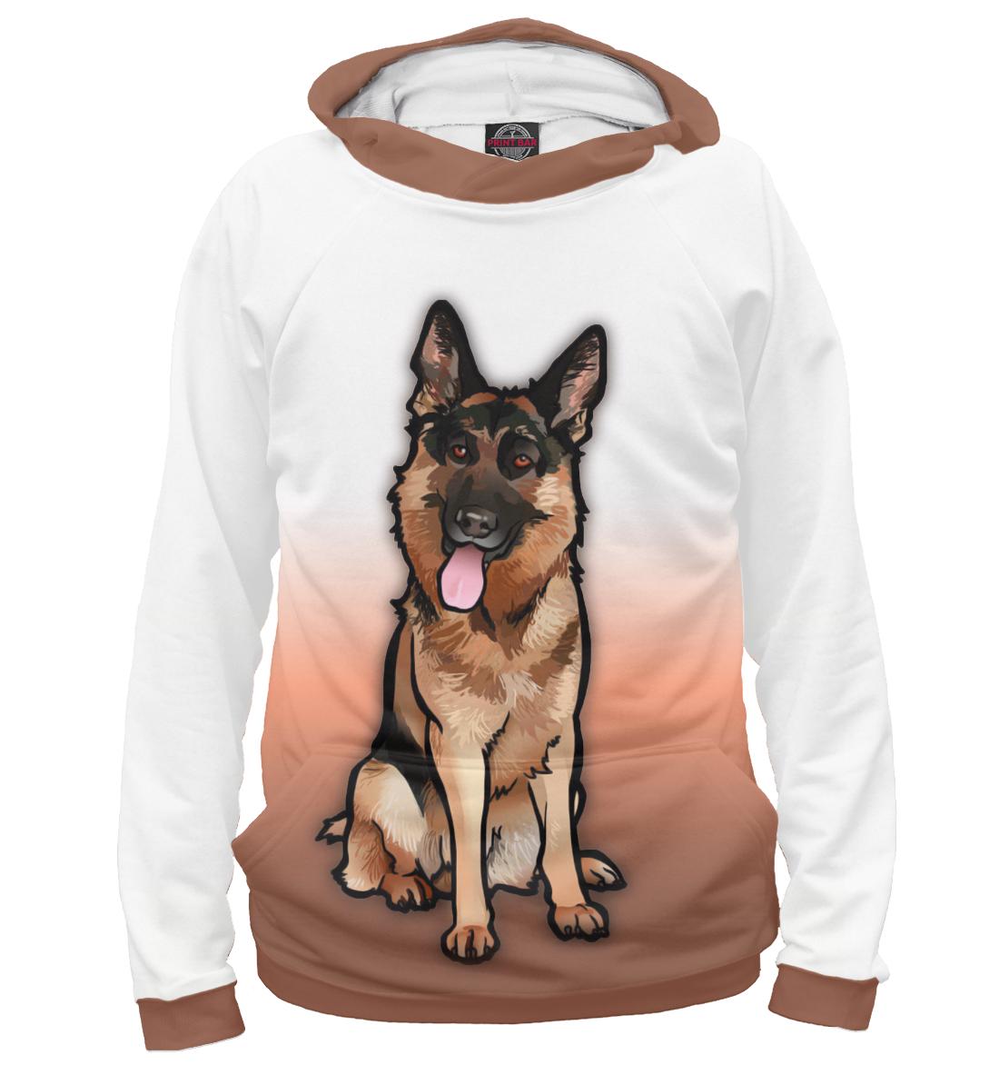 Купить Немецкая овчарка, Printbar, Худи, DOG-793947-hud-1