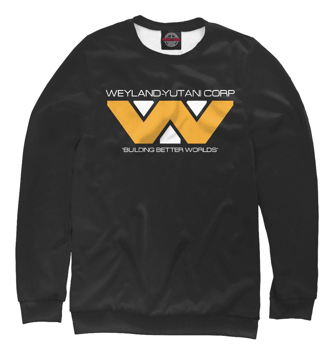 Купить Weyland corp dark, Printbar, Свитшоты, AIN-873135-swi-2