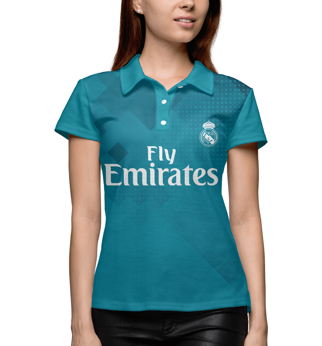 Купить Реал Мадрид, Printbar, Поло, REA-395951-pol-1