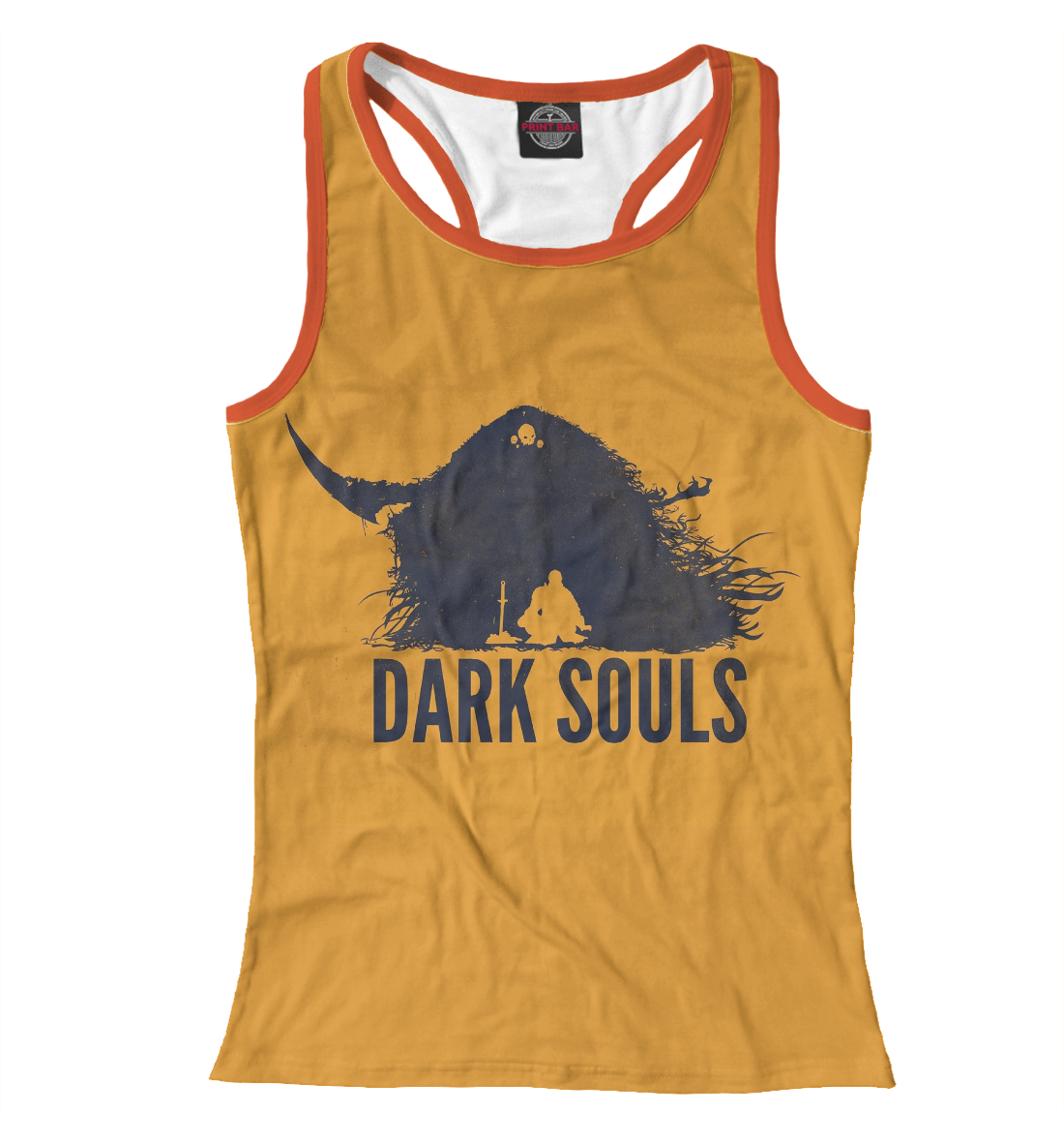 Купить Dark Souls, Printbar, Майки борцовки, DKS-220216-mayb-1