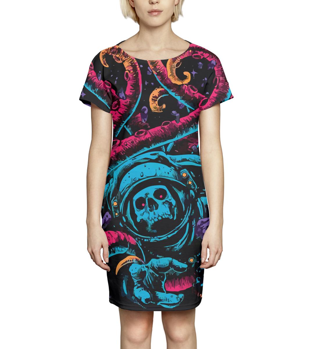 Купить Космос, Printbar, Платье летнее, NWT-595559-pkr-1