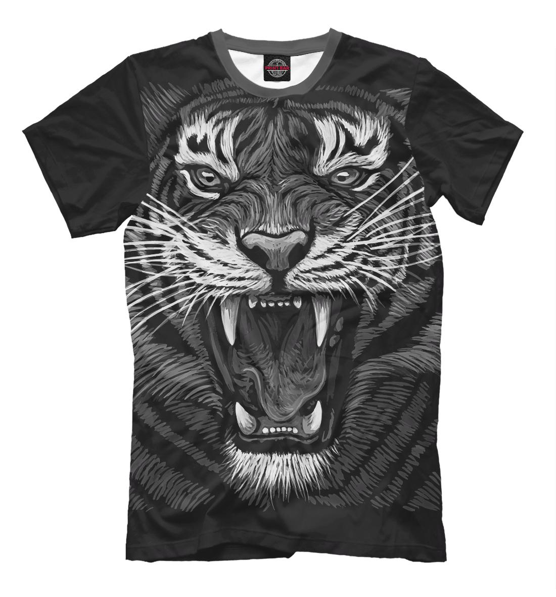 Купить Tiger Rage, Printbar, Футболки, HIS-343794-fut-2