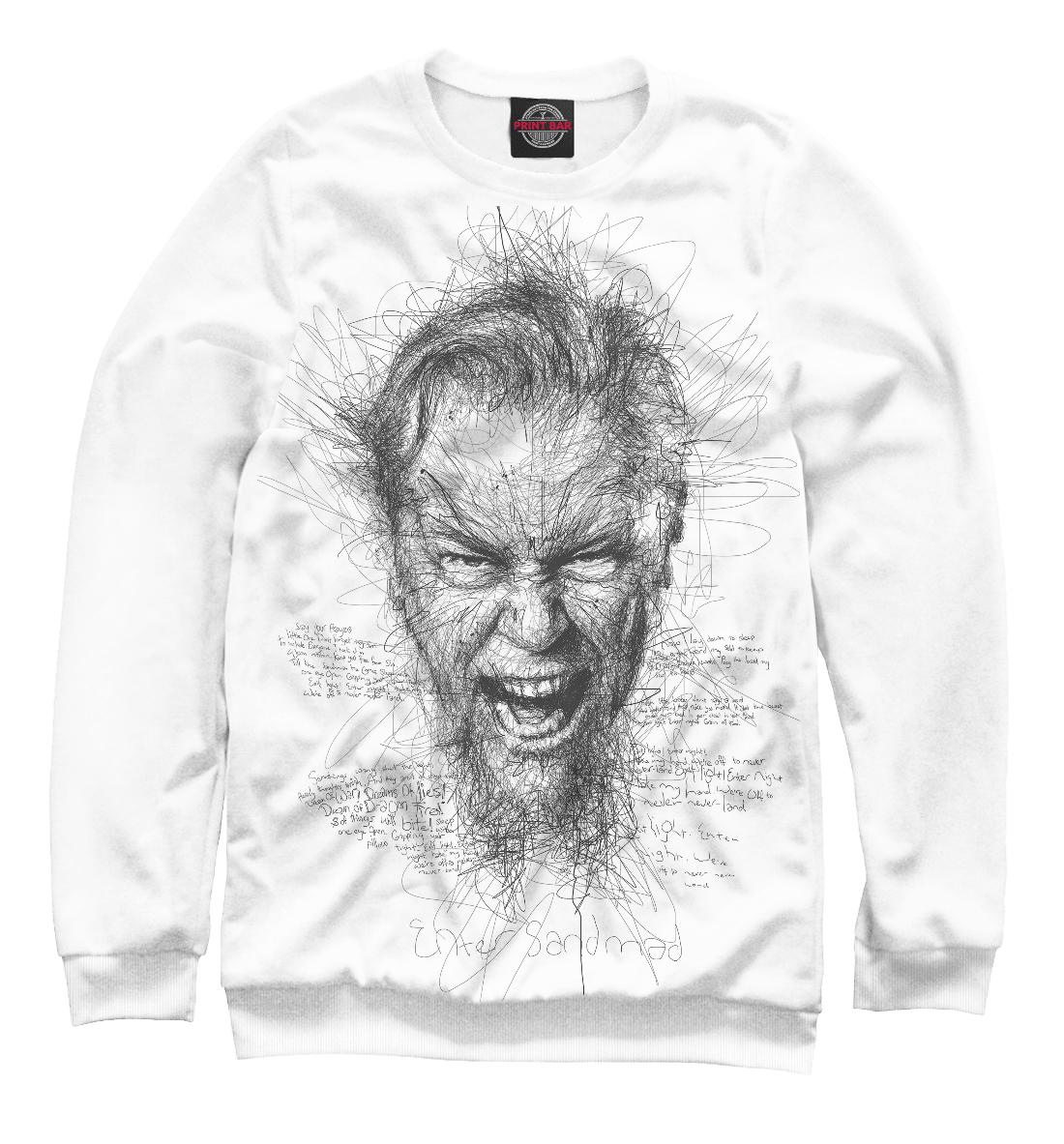 Купить Metallica Джеймс Хэтфилд, Printbar, Свитшоты, MET-844849-swi-2
