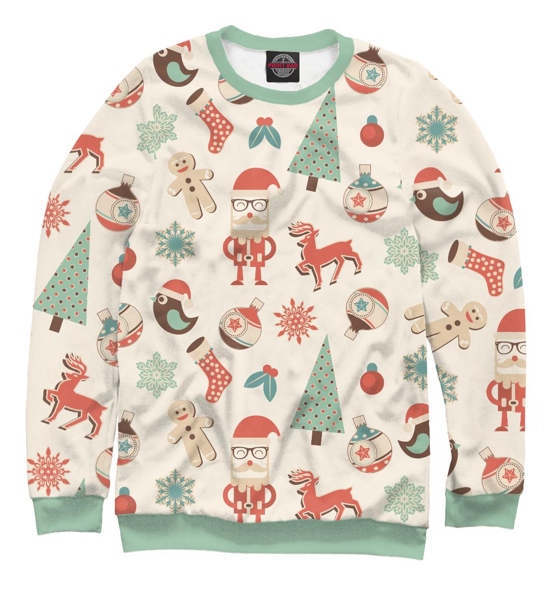 Купить С Новым Годом, Printbar, Свитшоты, NOV-425019-swi-1