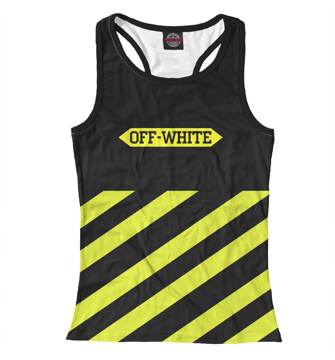Купить Off-White, Printbar, Майки борцовки, APD-768732-mayb-1