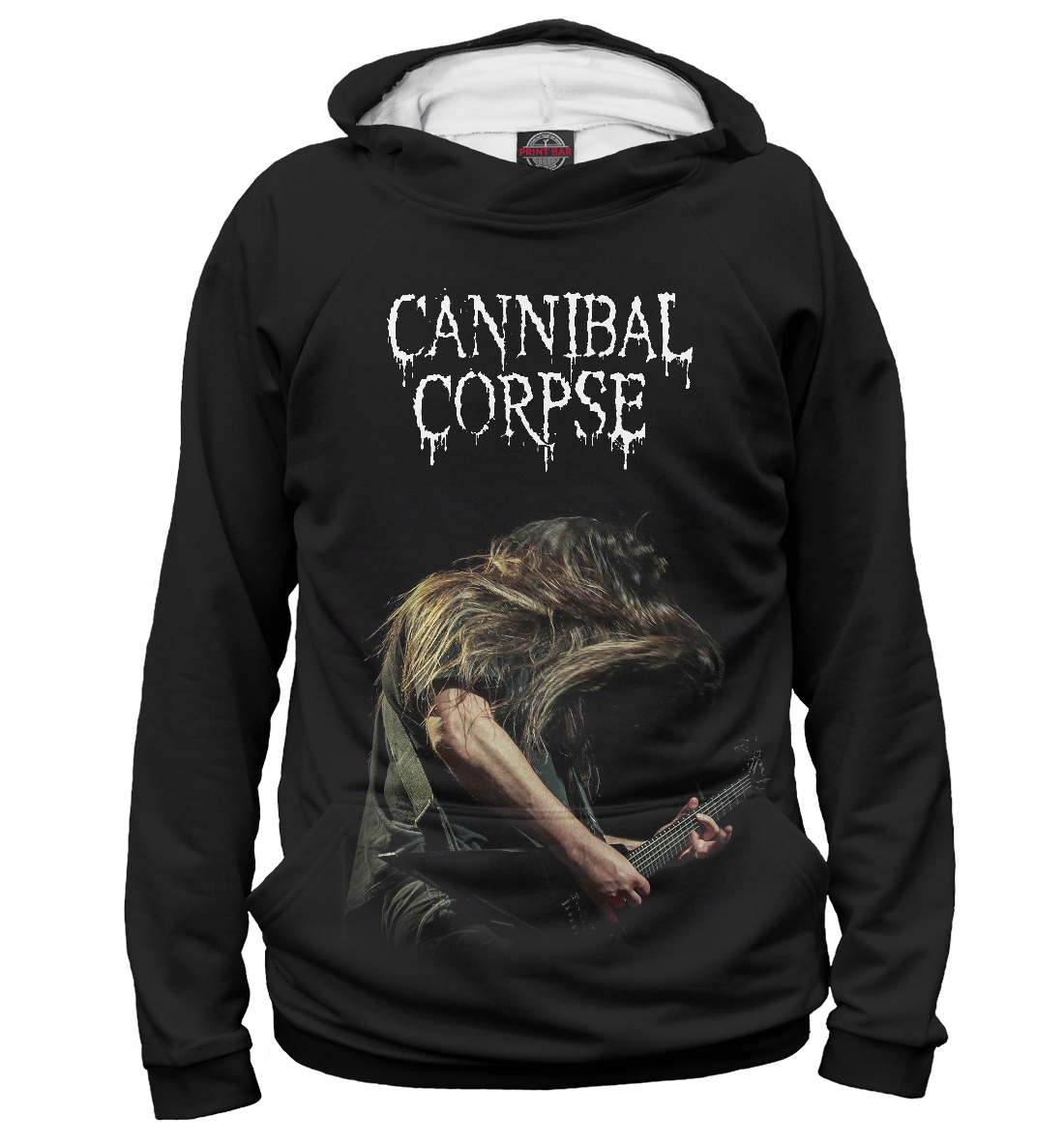 Купить Pat O'Brien (Cannibal Corpse), Printbar, Худи, MZK-668741-hud-2