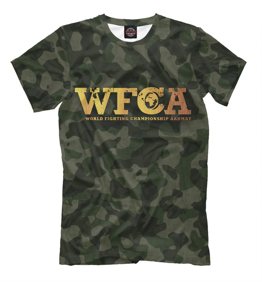 Купить АХМАТ WFCA, Printbar, Футболки, AFC-819905-fut-2