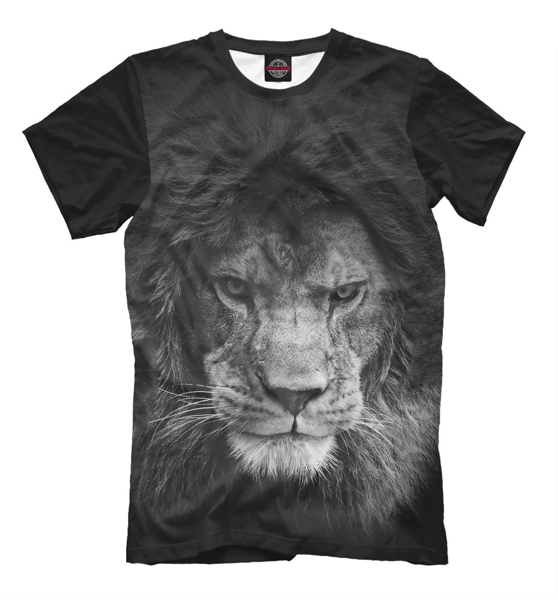 Купить Lion, Printbar, Футболки, HIS-453936-fut-2