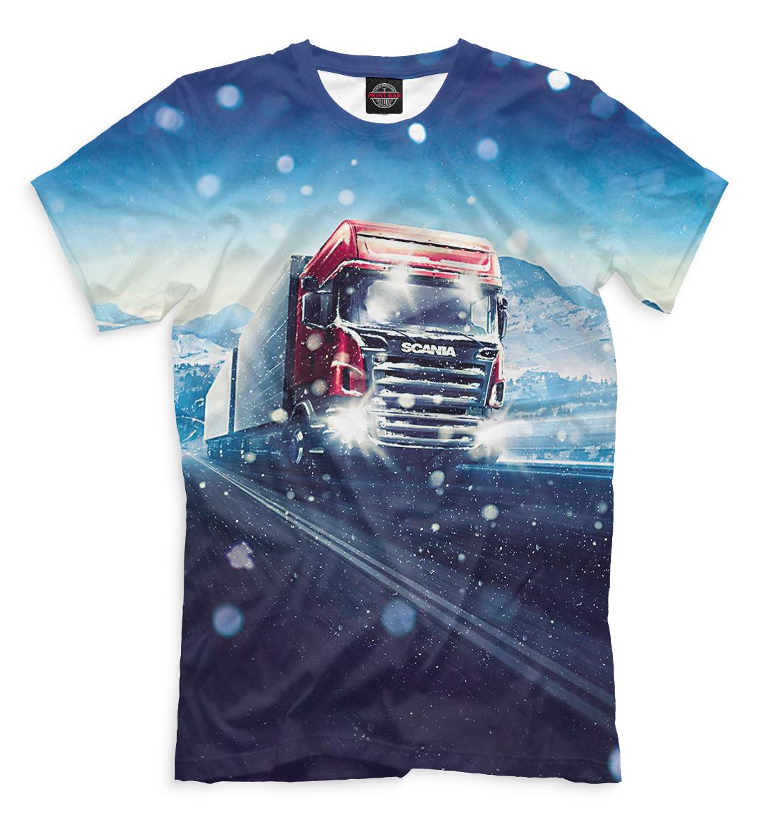 Купить Scania, Printbar, Футболки, GRZ-587036-fut-2