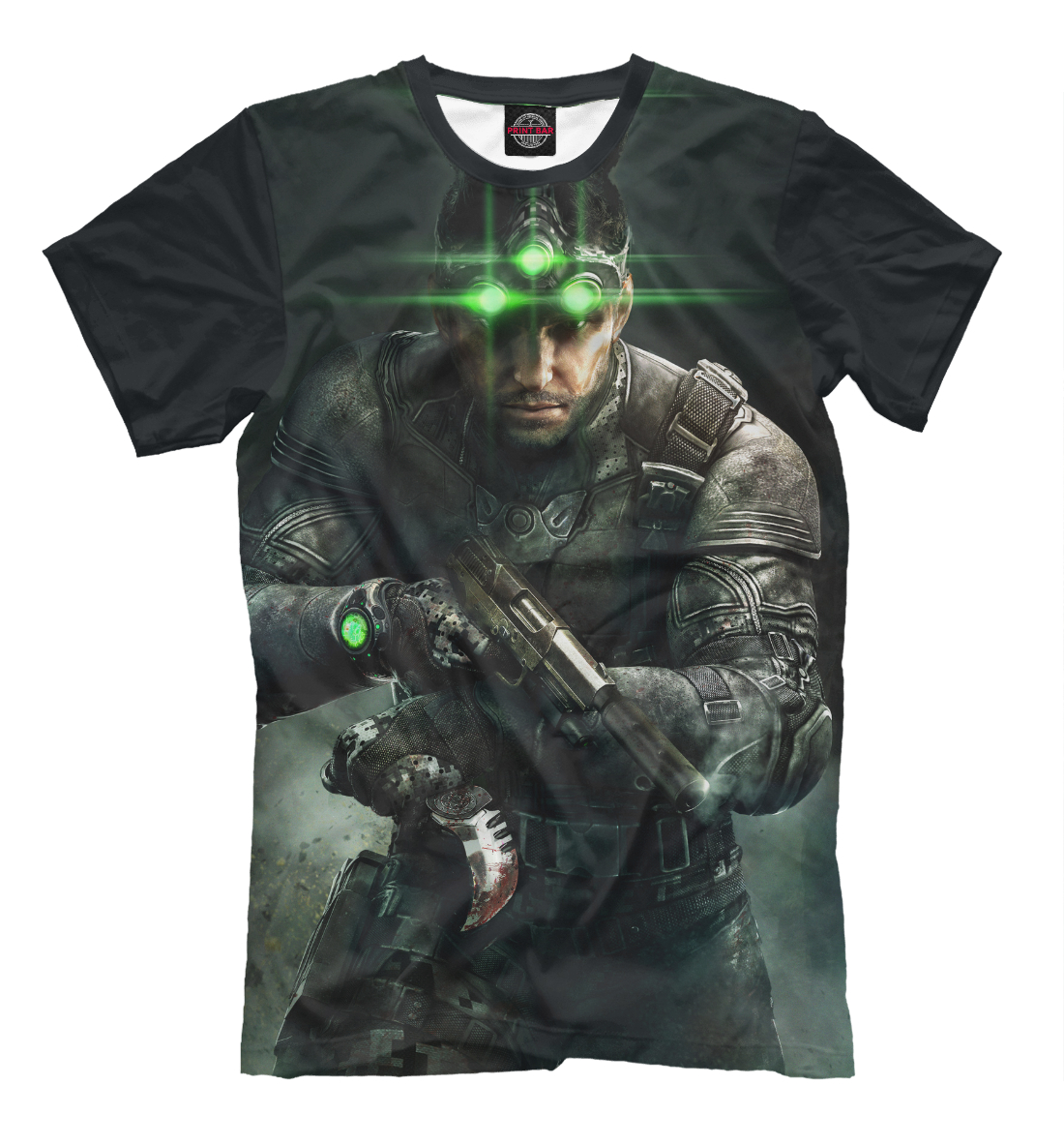 Купить Splinter Cell: Blacklist — Сэм Фишер, Printbar, Футболки, RPG-930840-fut-2