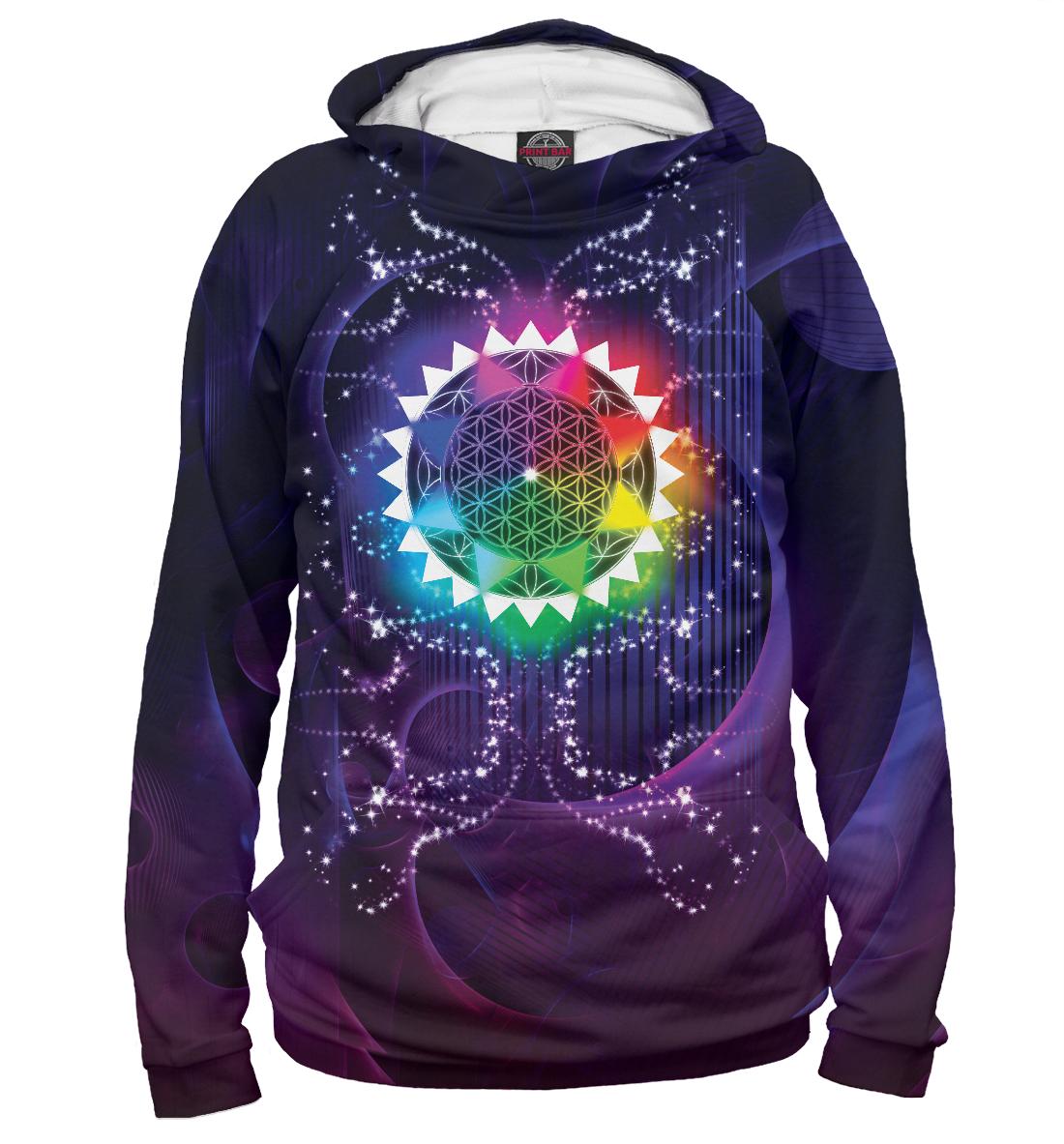 Купить Sacred Star Geometry, Printbar, Худи, APD-150546-hud-2