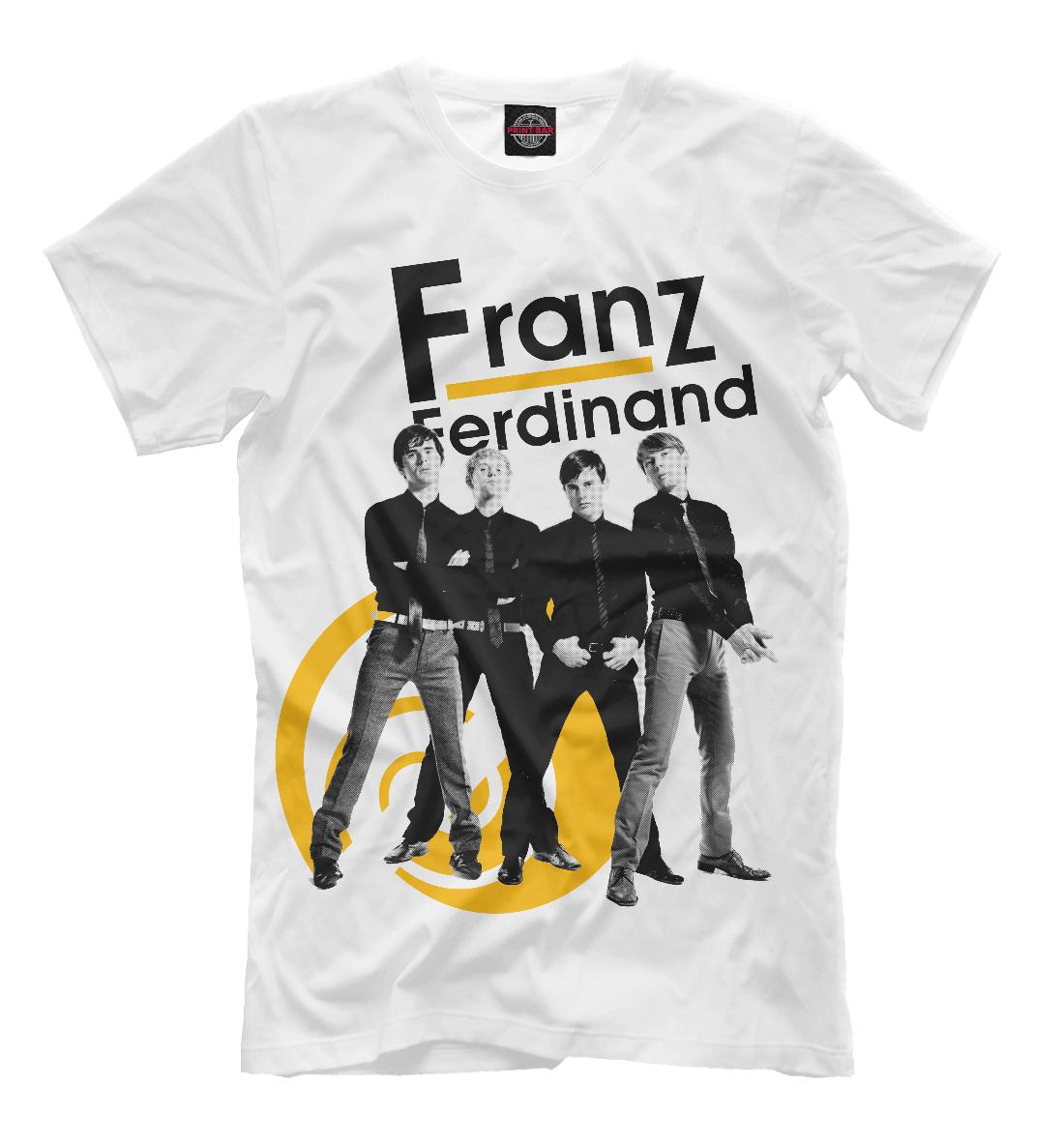 Купить Franz Ferdinand, Printbar, Футболки, MZK-435725-fut-2
