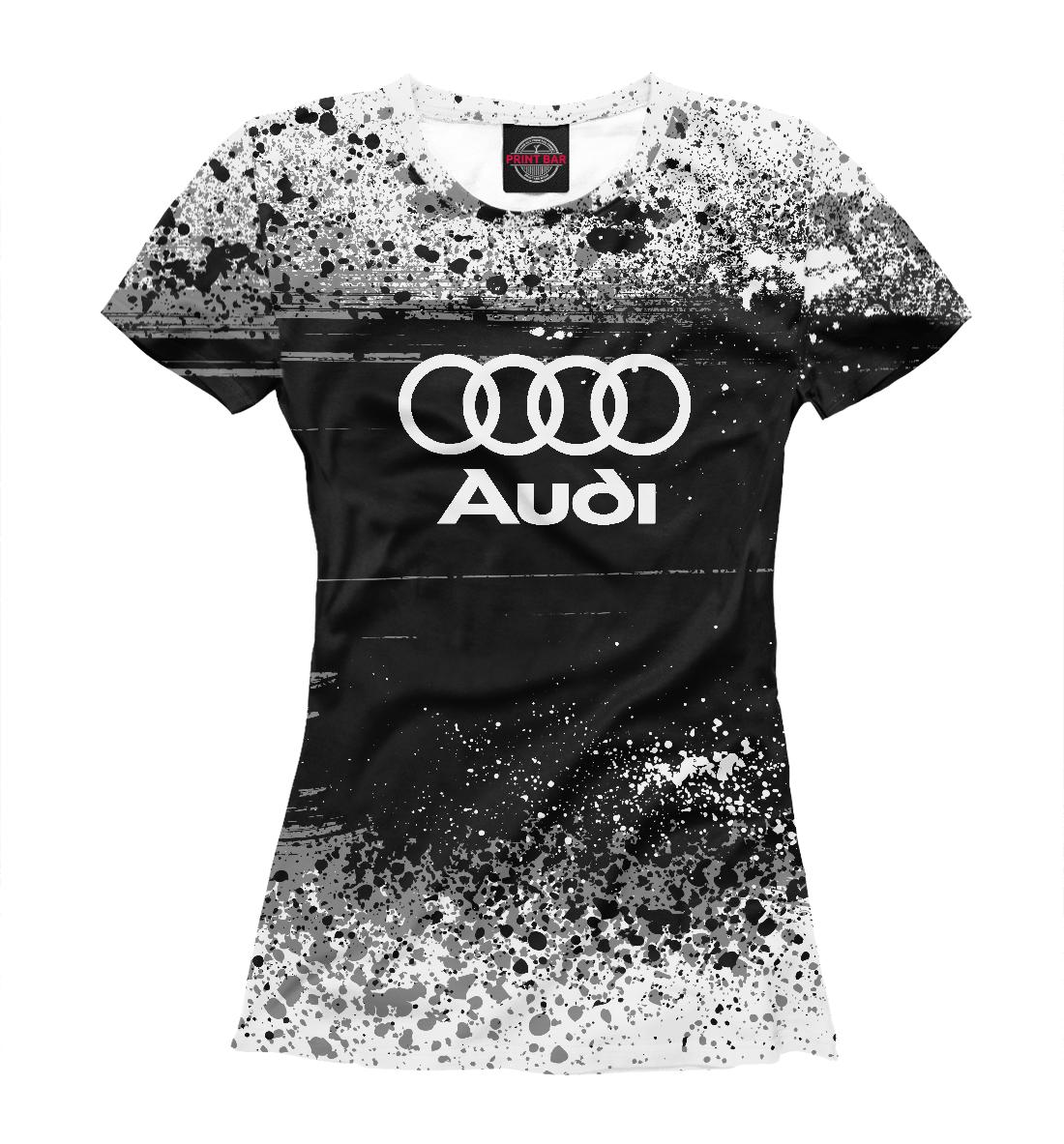 Купить Audi sport, Printbar, Футболки, AUD-751229-fut-1