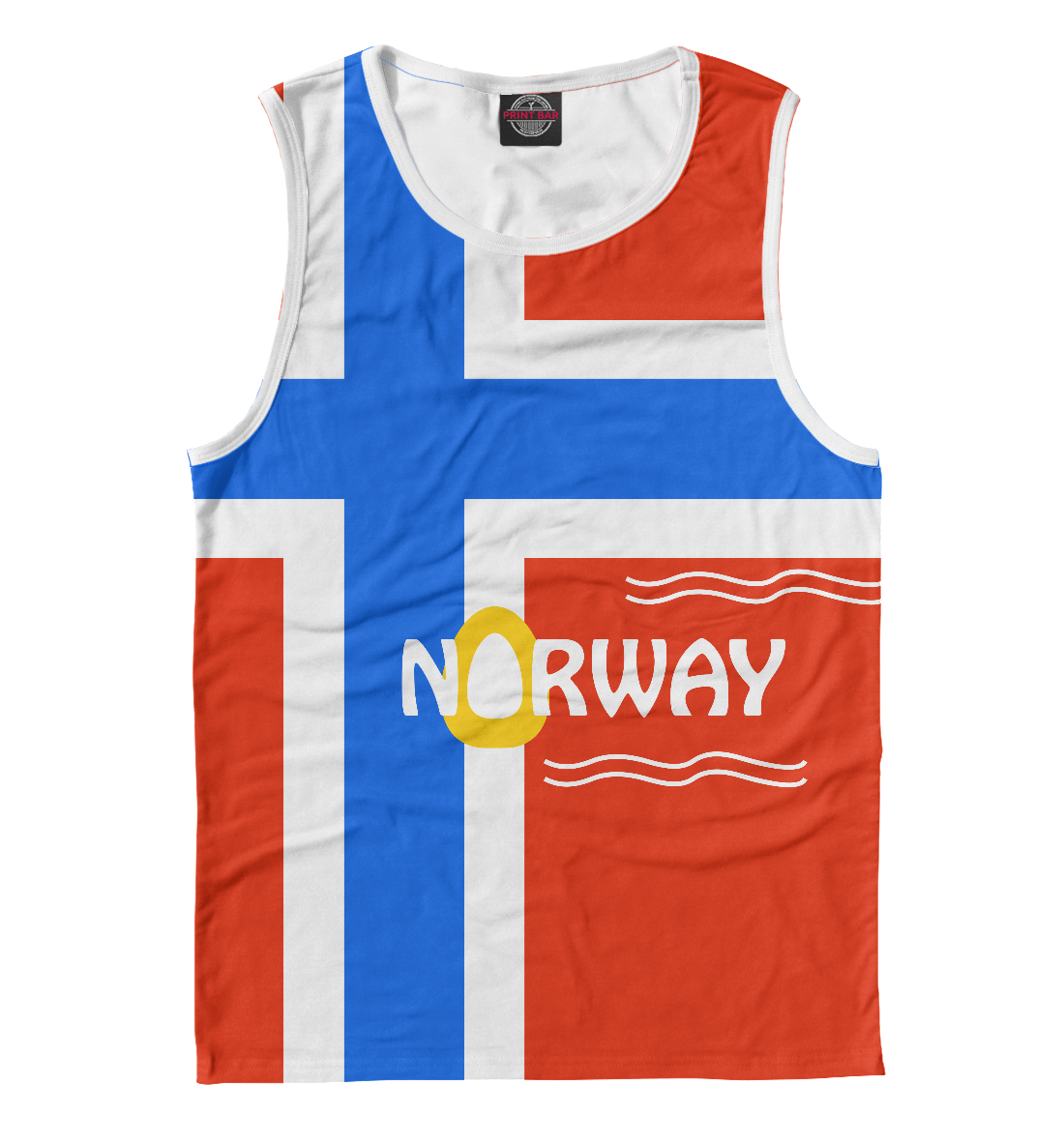 Купить Норвегия, Printbar, Майки, CTS-292150-may-2