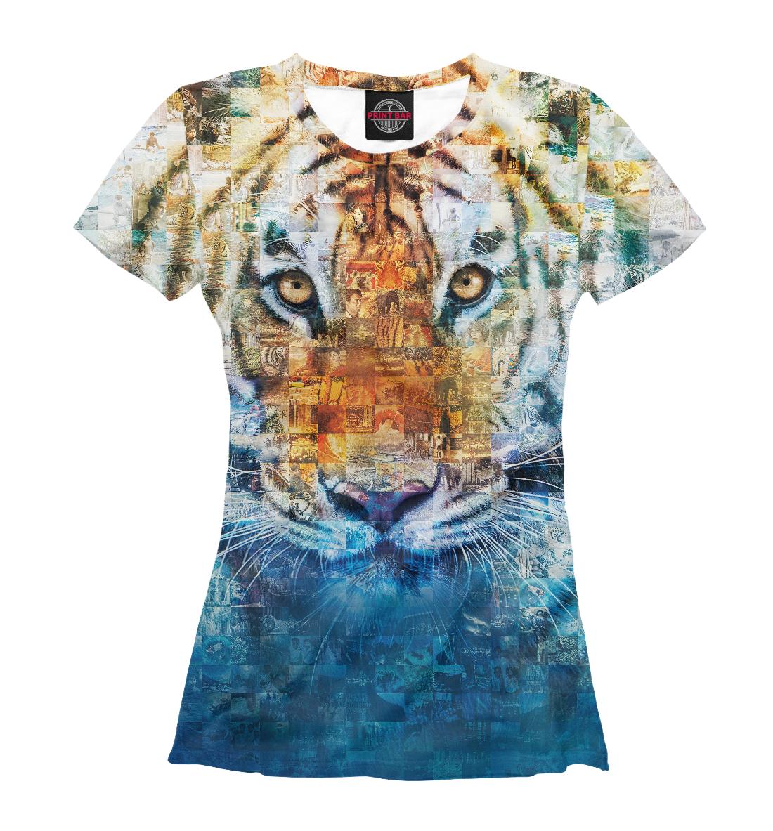 Купить Тигр - Жизнь Пи, Printbar, Футболки, HIS-149200-fut-1