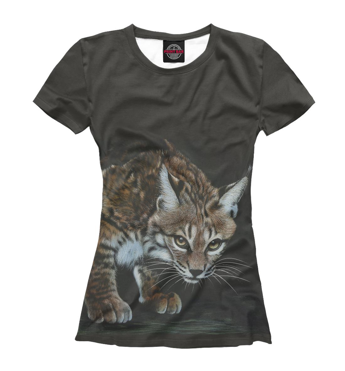 Купить Хищные кошки, Printbar, Футболки, HIS-341217-fut-1