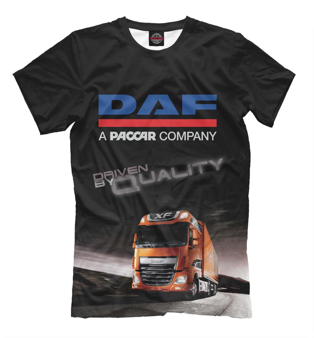 Купить DAF - Driven By Quality, Printbar, Футболки, GRZ-912734-fut-2
