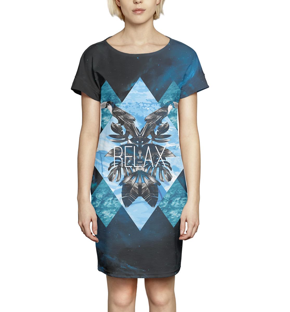 Купить Relax, Printbar, Платье летнее, NWT-272318-pkr-1