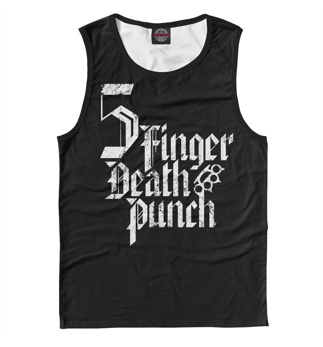 Купить Five Finger Death Punch, Printbar, Майки, FFD-748275-may-2