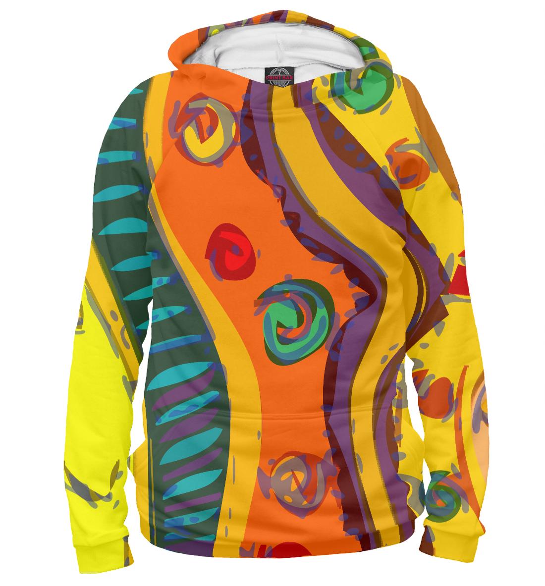 Купить African orange, Printbar, Худи, PSY-147800-hud-2