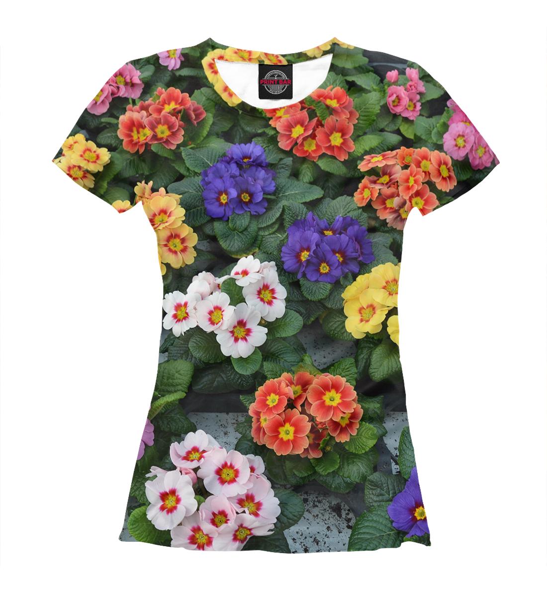 Купить Клумба с цветами, Printbar, Футболки, CVE-672653-fut-1