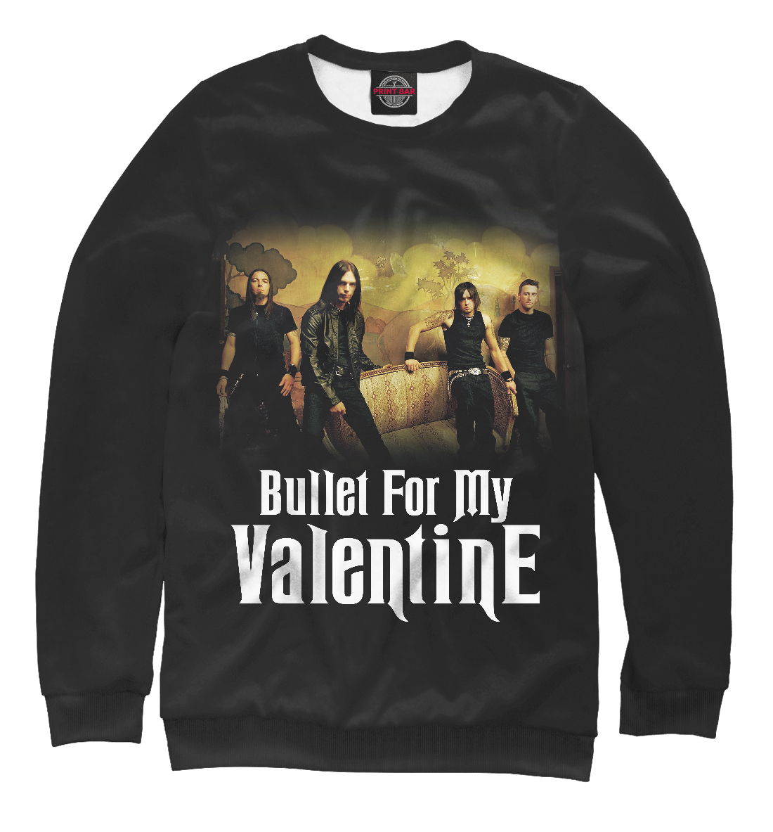 Bullet for My Valentine, Printbar, Свитшоты, BMV-531779-swi-1  - купить со скидкой