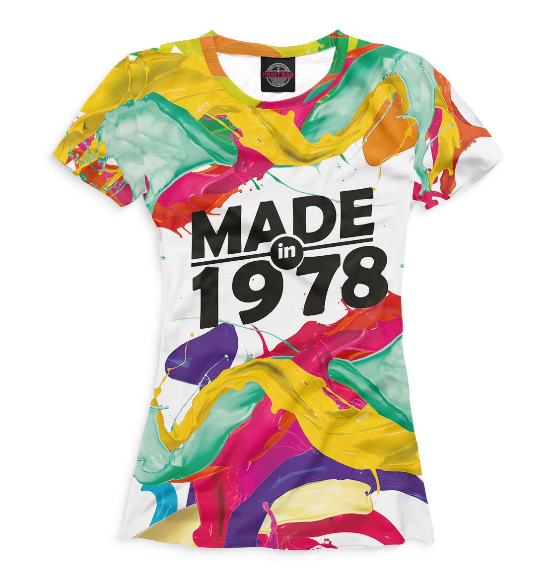 Купить Made in 1978, Printbar, Футболки, DSV-654909-fut-1
