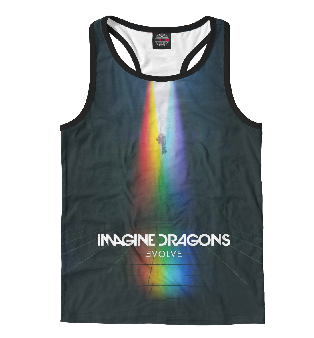 Купить Imagine Dragons, Printbar, Майки борцовки, IMA-417104-mayb-2