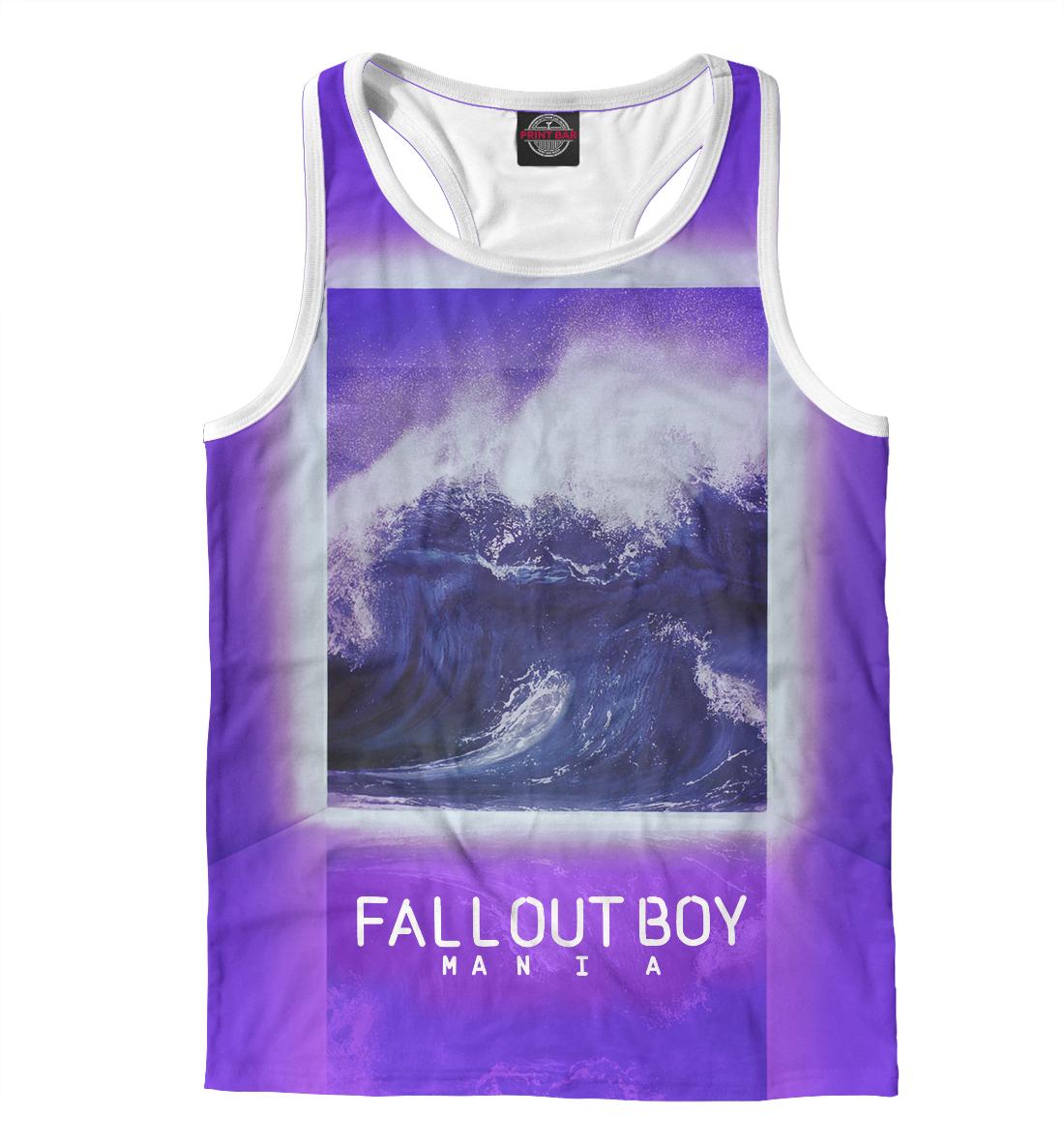 Купить Fall Out Boy MANIA, Printbar, Майки борцовки, FOB-156204-mayb-2