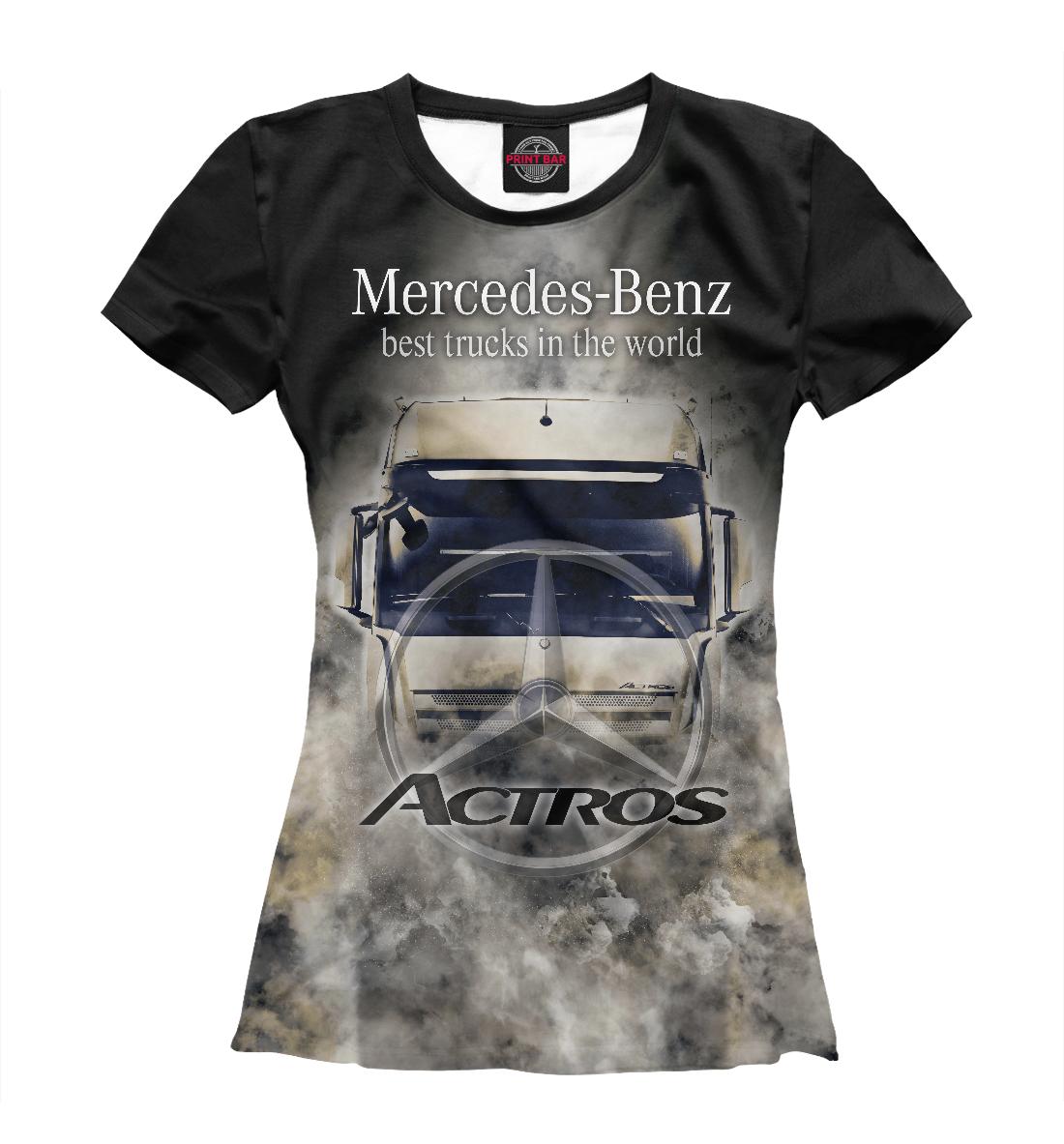Купить Mercedes-Benz Actros, Printbar, Футболки, GRZ-624939-fut-1
