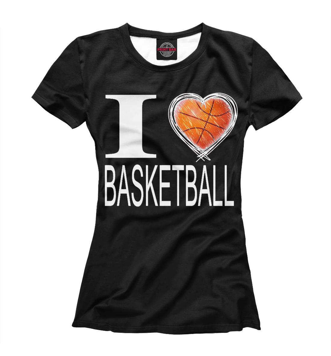 I Love Basketball Black