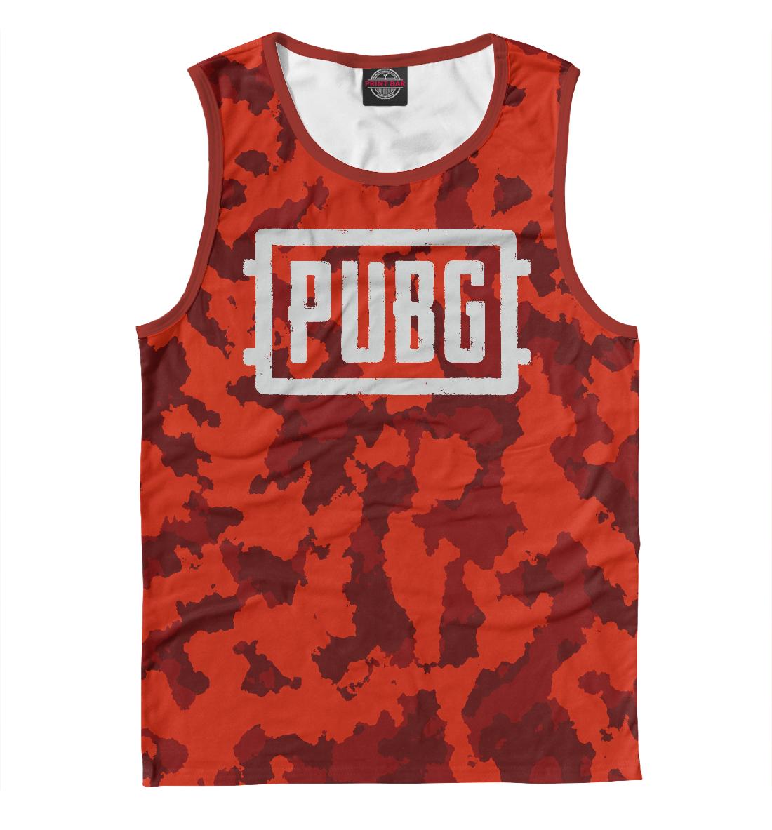 Купить PUBG Red Abstract, Printbar, Майки, PBG-299713-may-2