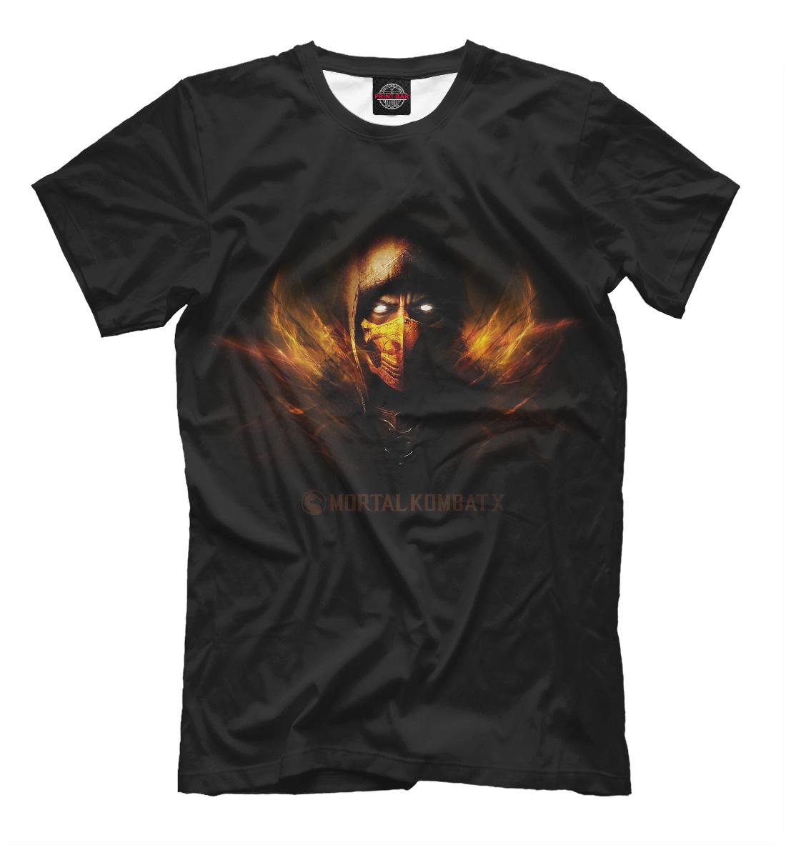 Купить Mortal Kombat (Scorpion), Printbar, Футболки, MKB-294009-fut-2