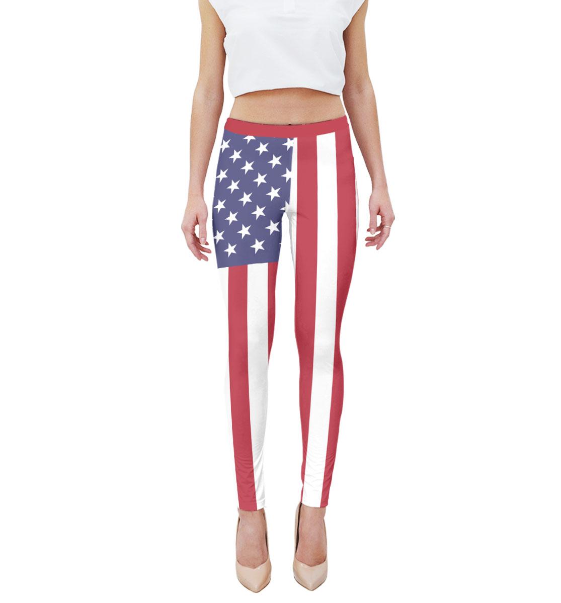 Купить Флаг США, Printbar, Леггинсы, NWT-692336-lgs-1