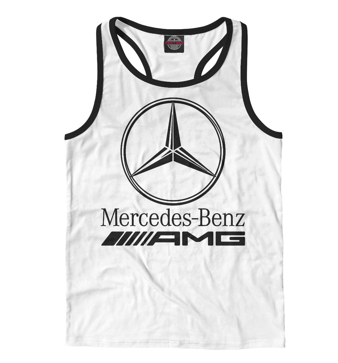 Mercedes-Benz AMG, Printbar, Майки борцовки, MER-912174-mayb-2  - купить со скидкой
