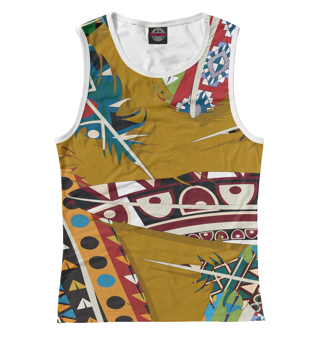 Купить Африканский стиль, Printbar, Майки, BCH-268265-may-1